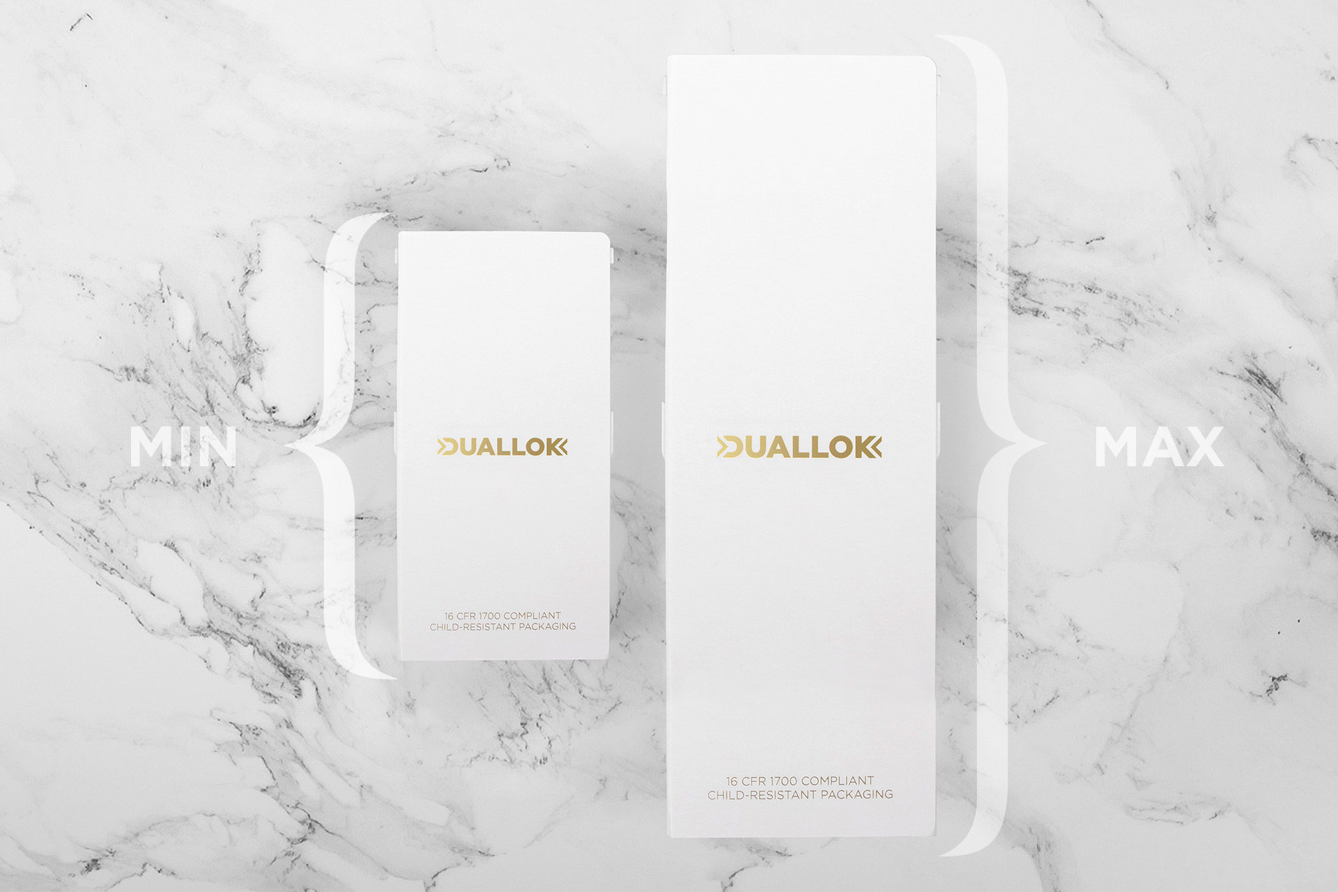 Duallok packaging
